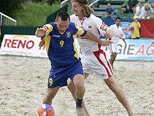 Украина собирается выиграть чемпионат мира по пляжному футболу