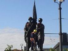 В Литве осквернили памятник советским воинам