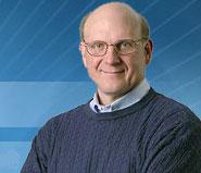 Состоялась видеотрансляция на вебе: глава Microsoft Стив Балмер в Киеве