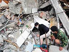 Число жертв землетрясения в Китае превысило 40 тысяч человек