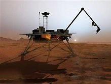 """Космический апарат """"Феникс"""" совершил посадку на Марсе"""