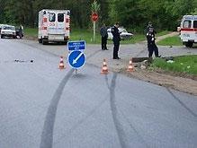 На Черниговщине «Опель» съехал в кювет и перевернулся – 5 погибших