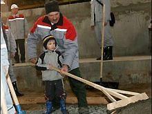 Александр Лукашенко показал младшего сына