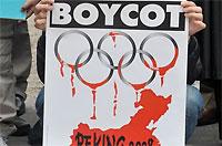 Причина разговоров о бойкоте Олимпиады-2008 в Китае