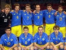 Сборная Украины по футзалу прорвалась на чемпионат мира