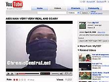 Сумасшедший на видеопортале  утверждает, что заразил СПИДом 1500 женщин