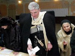 В Грузии огласили результат экзит-полла