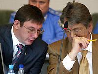Луценко извинился перед Ющенко за пощечину Черновецкому