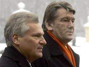 Квасьневский: Ющенко совершил грубую ошибку