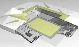 За строительством львовского стадиона к Евро-2012 можно будет следить в Интернете