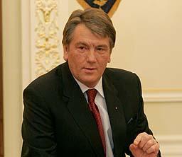 Ющенко сегодня в Раду не придет из-за совещания