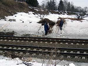 В Черниговской области поезд столкнулся с автомобилем. Погибли два человека