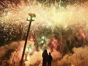 Китай встретил Новый год: произошло 75 пожаров, ранены 46 человек