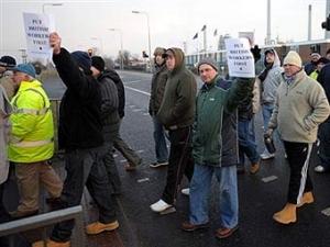 В Шотландии рабочие бастуют против трудовых мигрантов