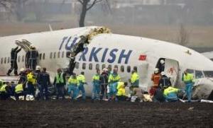 Министр транспорта Турции: В авиакатастрофе в Амстердаме погибших нет