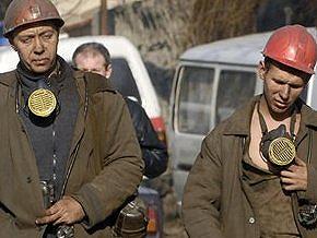 В Макеевке 13 рабочих отказываются подниматься из шахты