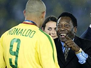 Пеле заявил, что Роналдо и Робиньо принимают наркотики