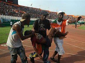 Во время матча Кот-д'Ивуара и Малави погибли 22 человека
