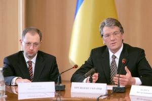 Эксперт: Ющенко доказал, что Яценюк не его преемник
