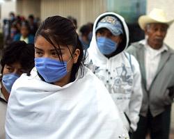 Число заболевших свиным гриппом выросло в Мексике до 312
