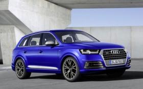 В Audi считают SQ7 самым мощным дизельным кроссовером: опубликованы фото