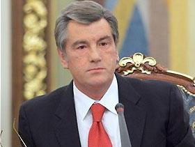 Ющенко надеется, что с Пекина украинцы привезут 12-15 медалей