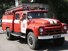 В Горловке загорелась шахта