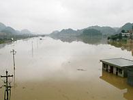 По меньшей мере 55 человек погибли при наводнениях в Китае