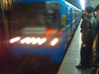 В Киеве из-за дождей прекращали движение метро