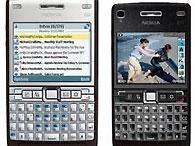 Nokia выпустила новые бизнес-телефоны E66 и E71