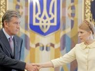 "Тимошенко назвала критику Ющенко ""политиканством"""
