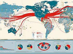 В 2012 году интернет-трафик будут измерять зеттабайтами