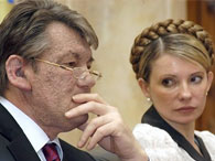 """""""Громадянська війна"""" Тимошенко і Ющенка розчаровує Європу"""