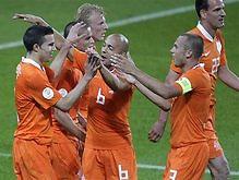 Сборную Голландии признали фаворитом Евро-2008