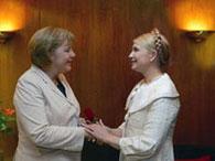 Тимошенко и Меркель не стали целоваться на бис