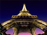 Эйфелеву башню раскрасят цветами флага ЕС