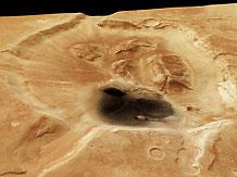 На Марсе обнаружен самый большой кратер в пределах Солнечной системы