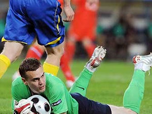 Акинфеев возглавил рейтинг лучших вратарей Евро-2008