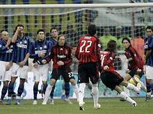 Серия А: Милан побеждает Интер