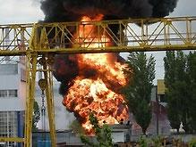 В Киеве взорвался бензовоз