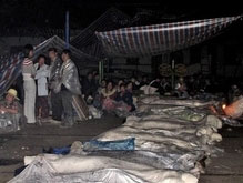 Число жертв землетрясения в Китае достигло 10 тысяч человек