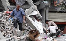 Число жертв землетрясения в Китае достигло почти 12 тысяч человек