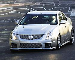 Cadillac CTS-V уложился в 8 минут на Нюрбургринге