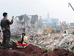 Тысячи жителей Китая спасаются от наводнения