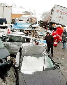 В аварии на скорости свыше 100 км/час гибнет 100% водителей