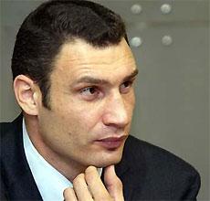 Виталий Кличко: Сначала Черновецкий, потом Питер