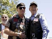 Джордж Буш стал почетным байкером