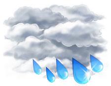 Завтра в Украине немного потеплеет, но пройдут дожди