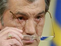 Ющенко отменил указ о подчинении войск МВД Президенту