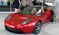Продажи электрородстера Tesla начнутся в 2009 году